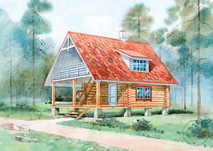 Проекты срубов домов и бань