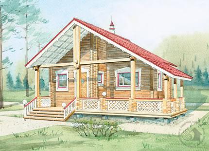 ЭкоСтройДом гКострома  строительство деревянных домов и бань